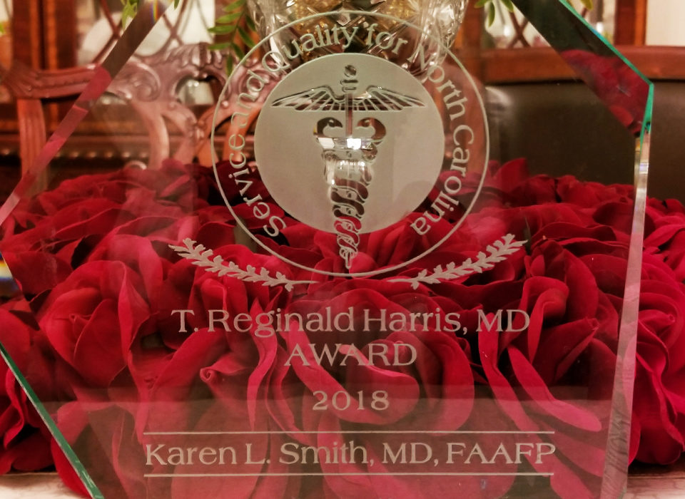 Harris Memorial Award Recipient